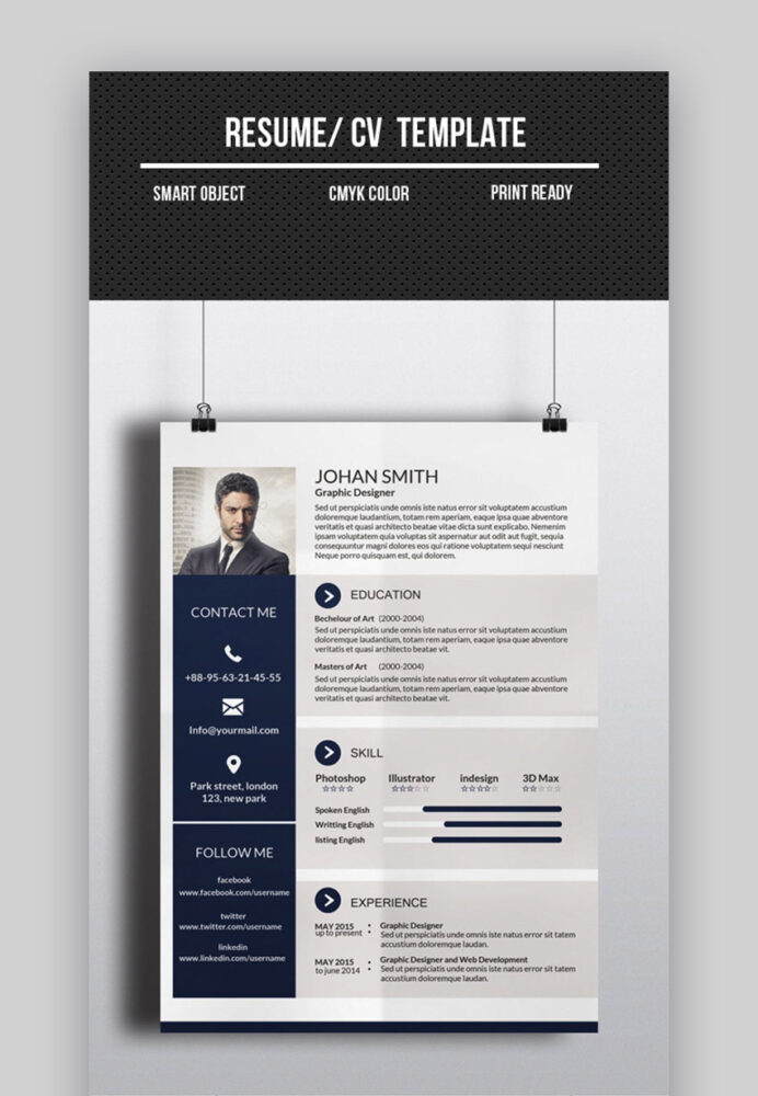 best one resume templates simple to use format examples template cv electrical designer Resume Best One Page Resume Template