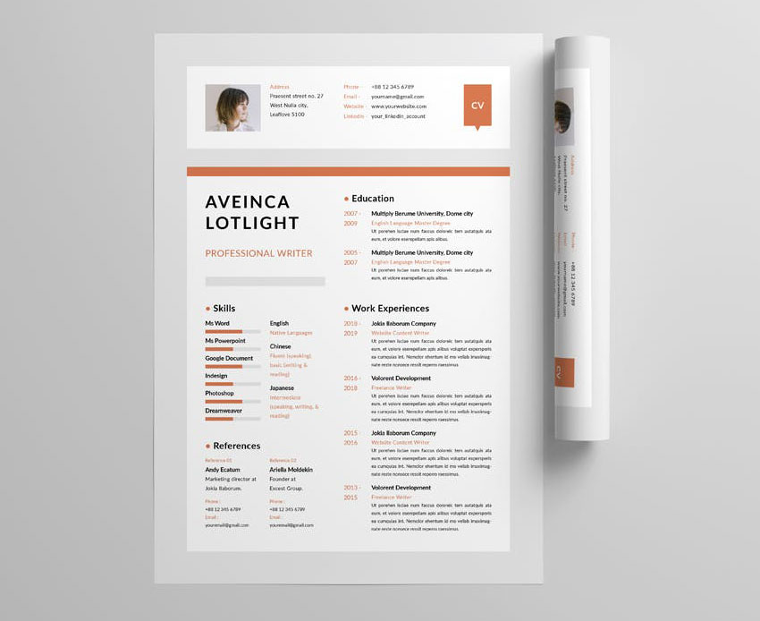 best one resume templates simple to use format examples template indesign pediatric nurse Resume Best One Page Resume Template