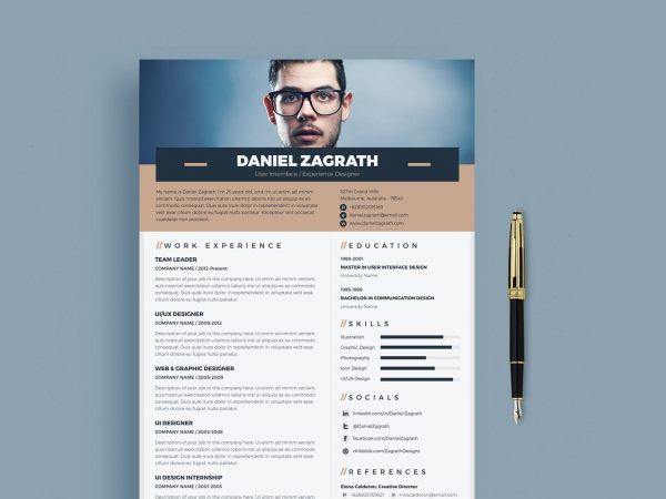 best pdf resume template free resumekraft templates trendy 600x450 project manager Resume Resume Templates Free Download Pdf
