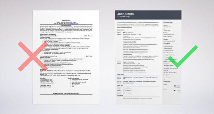 best resume format professional samples good looking example of formats strong verbs for Resume Good Looking Resume Format