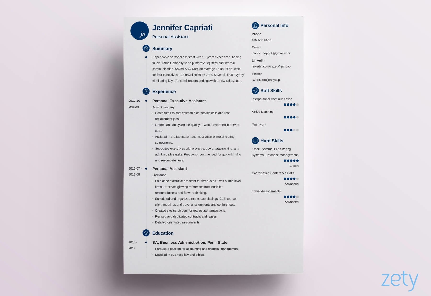 best resume format professional samples looking resumes formats primo accounts receivable Resume Best Looking Resumes 2020