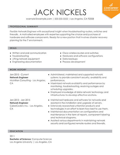 best resume formats of livecareer type functional thumb basic simple sample phone Resume Best Type Of Resume