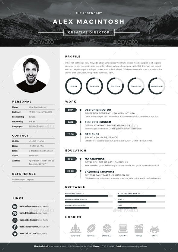 best resume templates bashooka graphic design creative looking sample for project planner Resume Best Looking Resume Templates