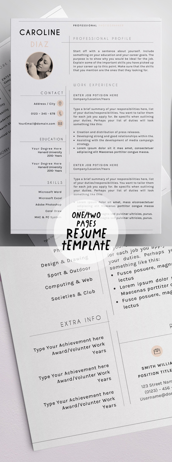 best resume templates for design graphic junction one template freelance makeup artist Resume Best One Page Resume Template