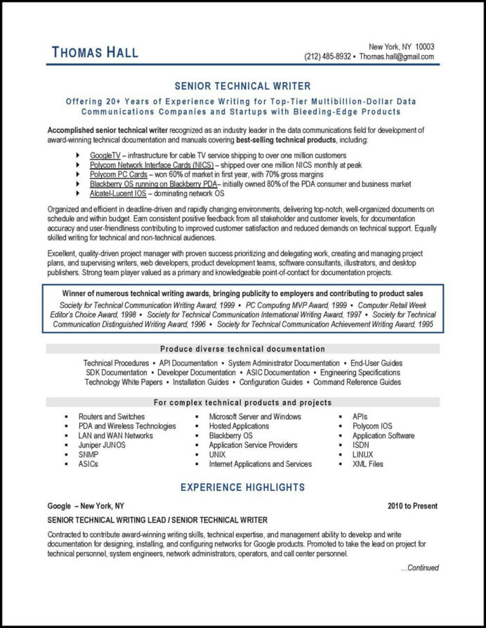 best tech resume writing services reviews creating the technical writer auditor example Resume Creating The Best Resume