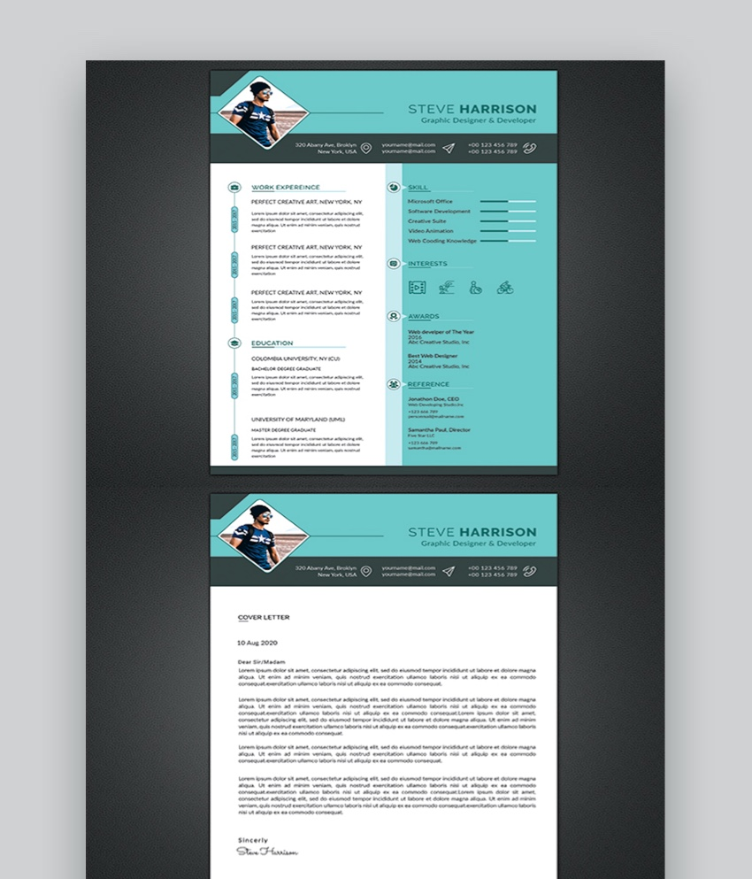 best web graphic designer resume cv templates examples for template learning and Resume Best Graphic Designer Resume