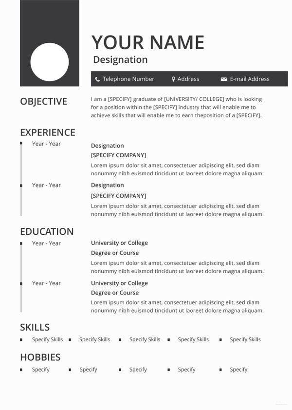 blank resume templates pdf free premium sheets to fill in template enhanced format best Resume Resume Sheets To Fill In