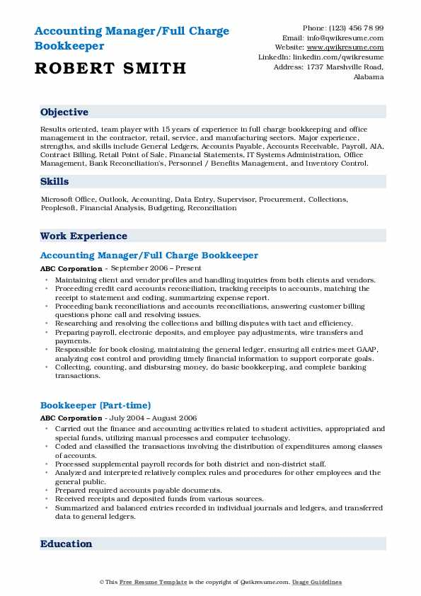 bookkeeper resume samples qwikresume sample pdf pilot objective technical layout student Resume Bookkeeper Resume Sample Pdf