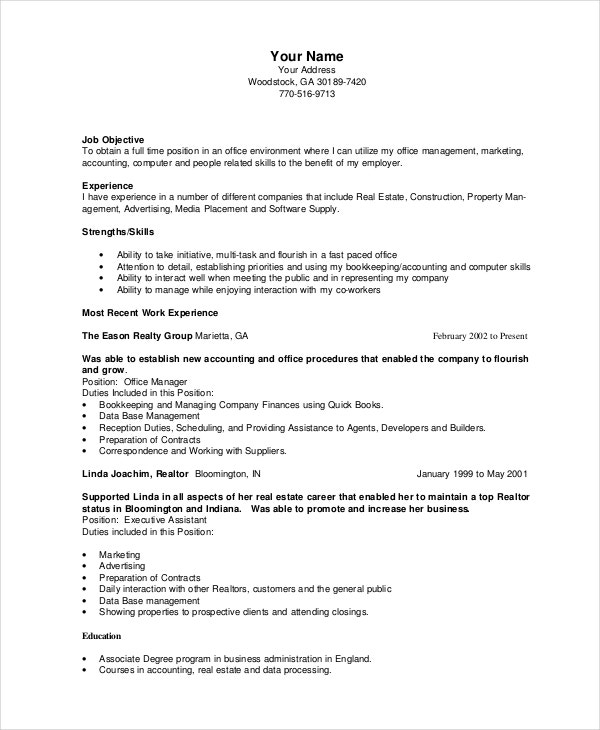bookkeeper resume template free word pdf documents premium templates sample accounting Resume Bookkeeper Resume Sample Pdf