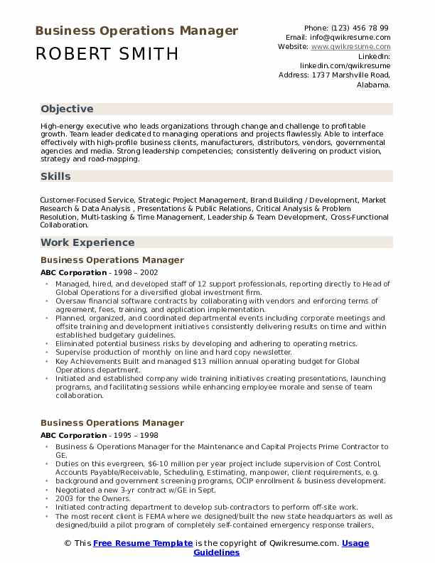 business operations manager resume samples qwikresume process outsourcing pdf hiring Resume Business Process Outsourcing Resume