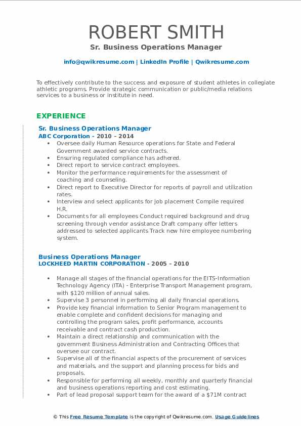 business operations manager resume samples qwikresume process outsourcing pdf special Resume Business Process Outsourcing Resume