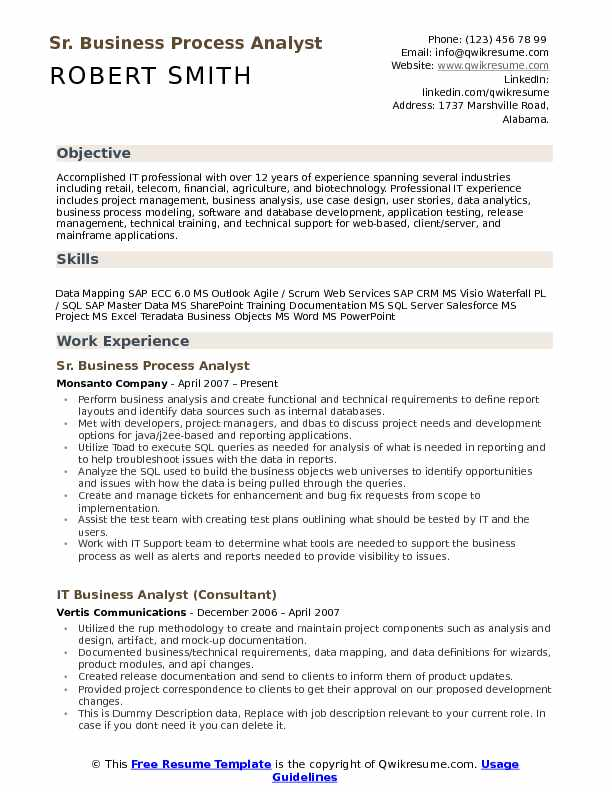 business process analyst resume samples qwikresume outsourcing pdf objective statement Resume Business Process Outsourcing Resume