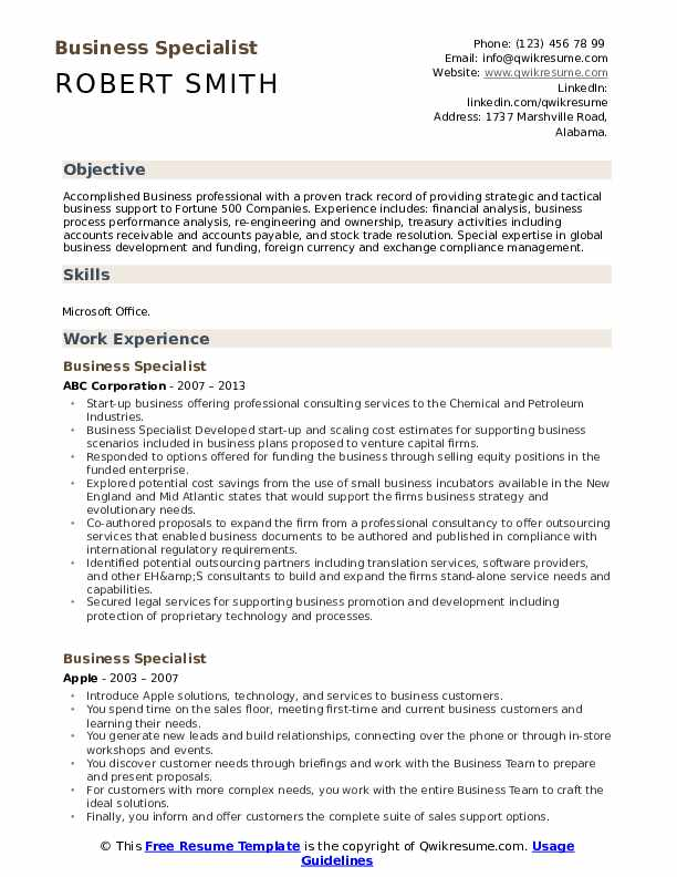 business specialist resume samples qwikresume process outsourcing pdf office manager job Resume Business Process Outsourcing Resume