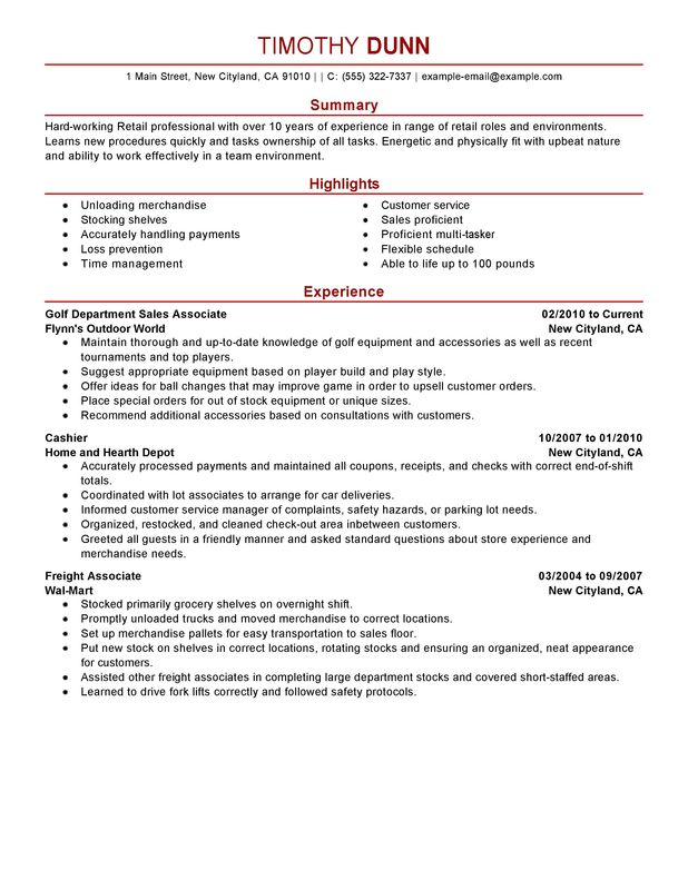 by retail job resume samples format examples for jobs skills profile biochemistry travel Resume Resume Examples For Retail Jobs