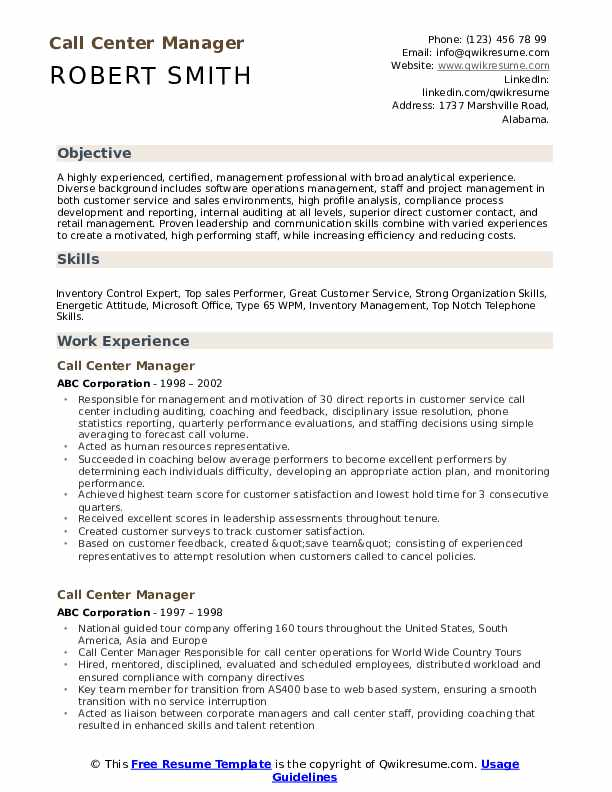 call center manager resume samples qwikresume objective examples pdf marketing student Resume Call Center Resume Objective Examples