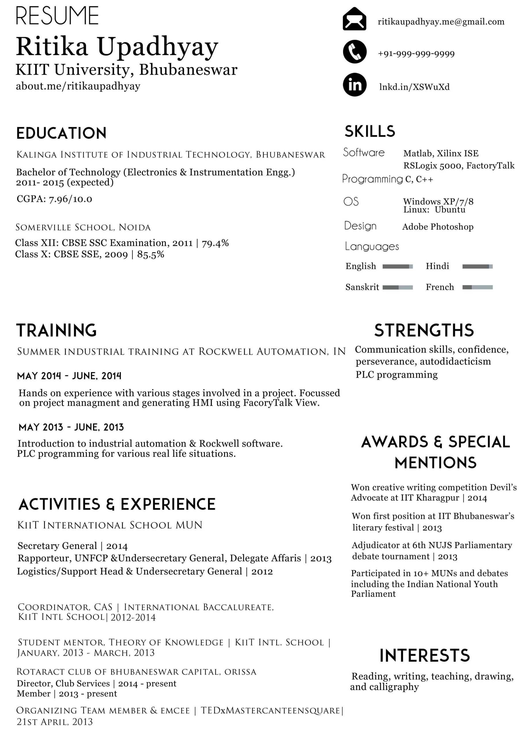 can organize info in my résumé better manner graphic design stack exchange make resume Resume Make A Better Resume