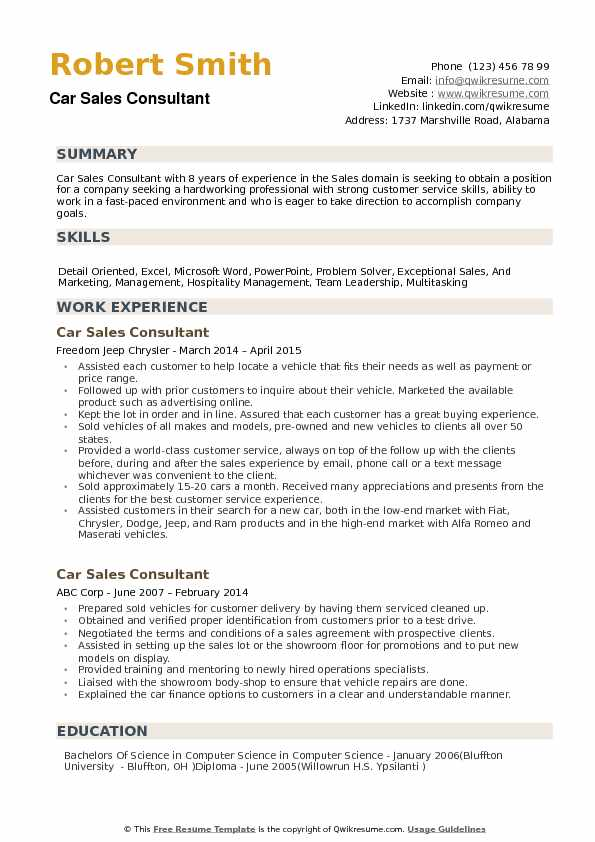 car consultant resume samples qwikresume auto pdf embedded engineer year experience Resume Auto Sales Consultant Resume