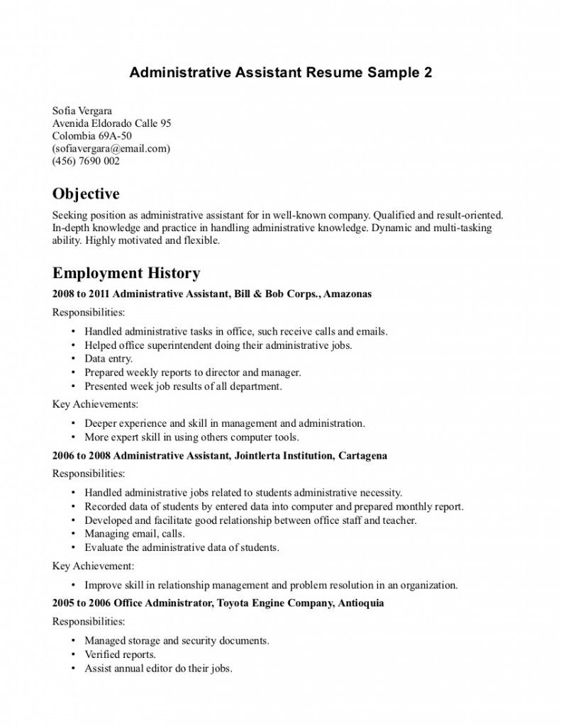 career objective for resume office assistant manual guide example work dispatcher job Resume Office Work Objective For Resume