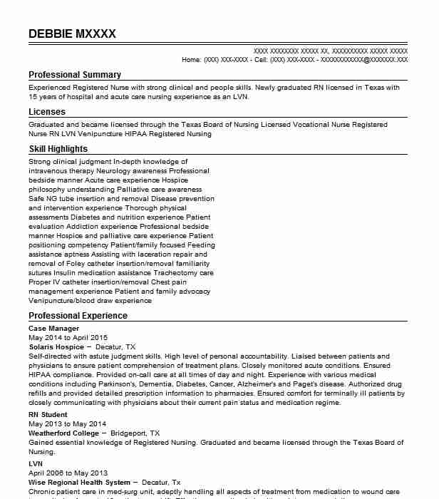 case manager resume example law group ltd los angeles lvn simple objective for reddit Resume Lvn Case Manager Resume