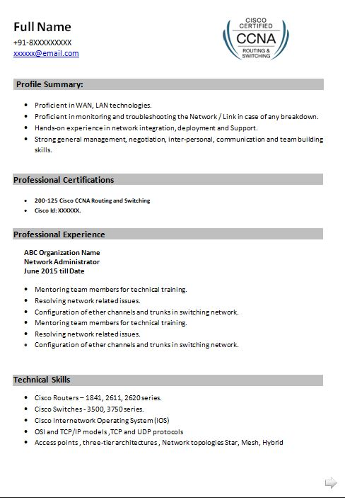 ccna resume samples top templates in network engineer sample technology writer epic cal Resume Ccna Network Engineer Resume Sample