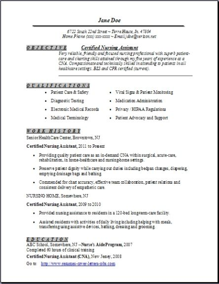 certified nursing assistant resume examples samples free edit with word templates for Resume Free Resume Templates For Certified Nursing Assistant