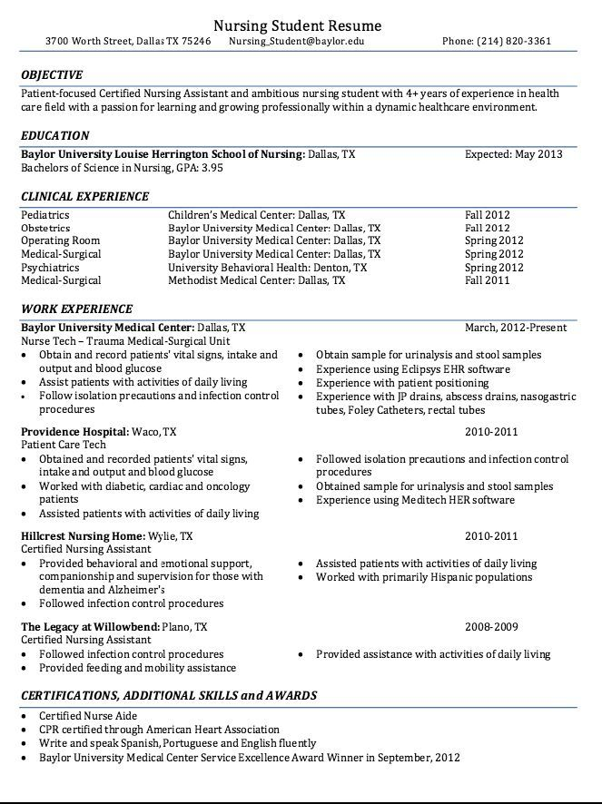 certified nursing student resume sample free template nurse with no experience for Resume Nursing Student Resume With No Experience
