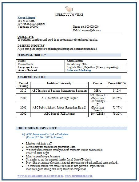 chance of getting an interview call depends on your resume format and content sample pdf Resume Resume Format For Job Interview