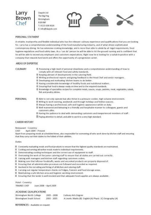 chef resume sample examples sous jobs free template chefs job description work operations Resume Sous Chef Resume Sample