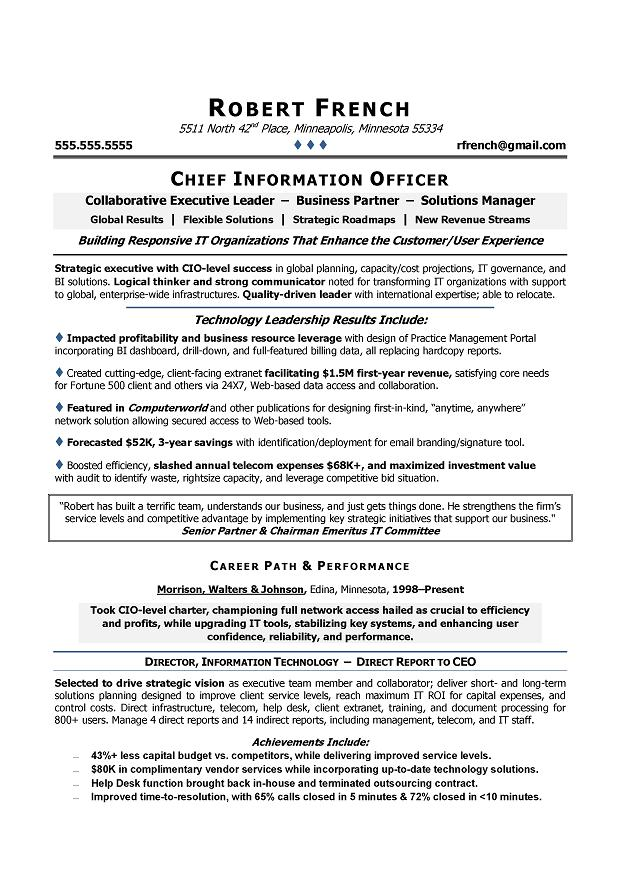 chief science officer cover letter january cio resume executive summary ciol websphere Resume Cio Resume Executive Summary