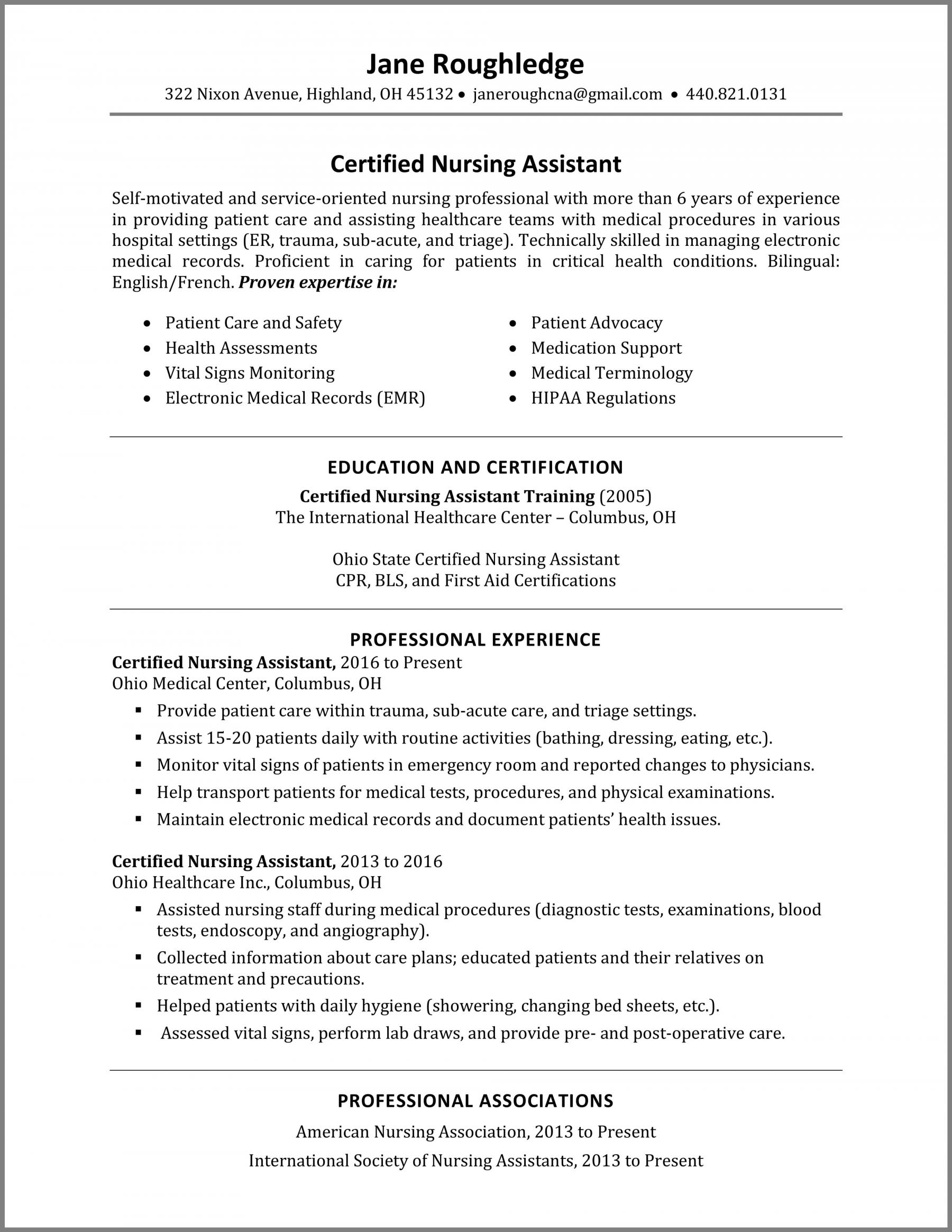 cna resume for hospital x5rx7sgwpiwc7jikbk1v skills adjectives lash stylist soccer coach Resume Cna Resume For Hospital
