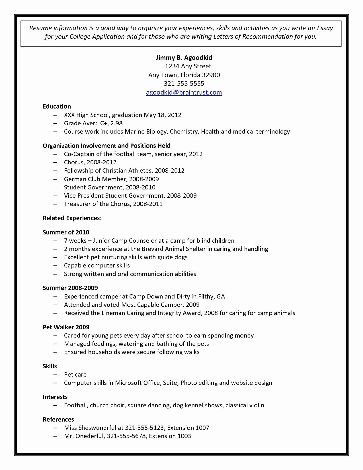 college admission resume templates addictionary sample application template staggering Resume Sample College Application Resume Template