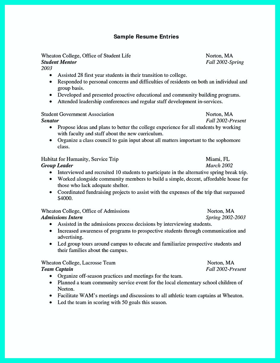 college freshman sample resume with no work experience student baruch template graduate Resume Baruch College Resume Template