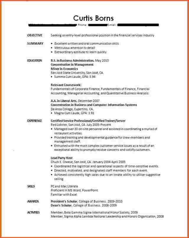 college student resume no experience cover letter job examples template for with little Resume Resume For College Student With Little Experience