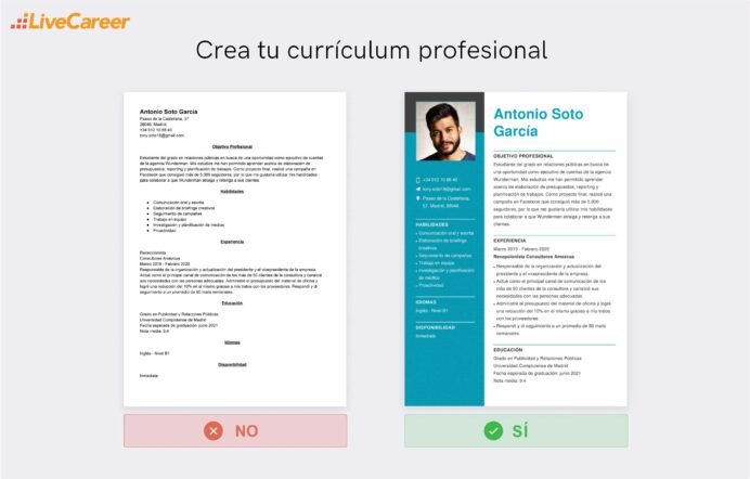 Cómo Hacer Una Currículum Sin Experiencia Guía Plantillas Resume Laboral Curriculum Lc Resume Sin Experiencia Laboral Resume Resume For Call Center Job Hobbies Section On Resume Examples Starbucks Barista Job Duties For