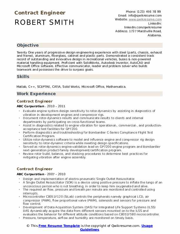 contract engineer resume samples qwikresume tendering pdf entry level nurse manager Resume Tendering Engineer Resume