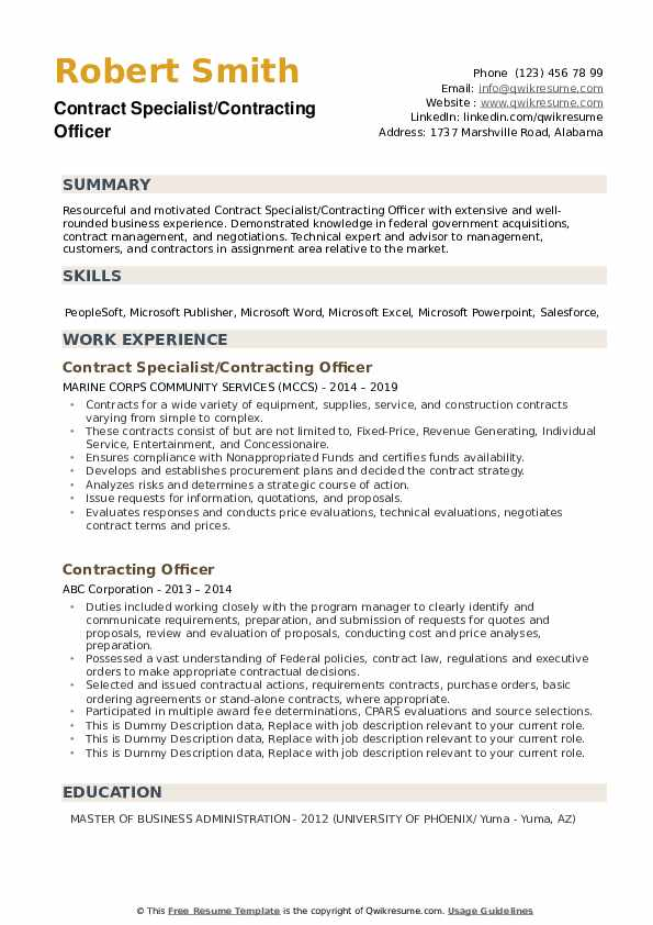 contracting officer resume samples qwikresume government pdf awards examples for personal Resume Government Contracting Officer Resume