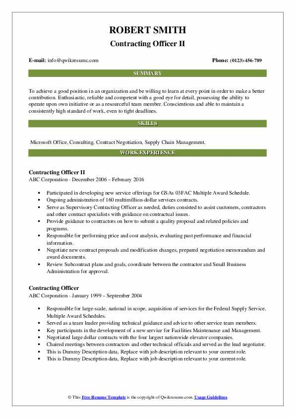 contracting officer resume samples qwikresume government pdf awards examples for quick Resume Government Contracting Officer Resume