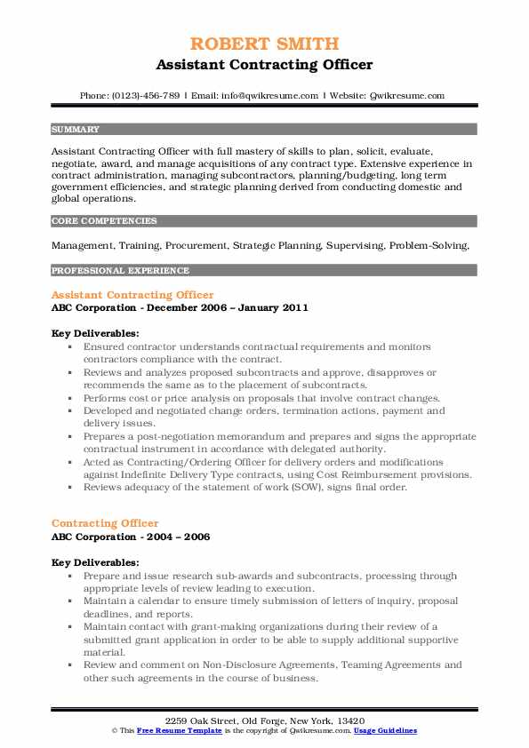 contracting officer resume samples qwikresume government pdf gdpr import export Resume Government Contracting Officer Resume