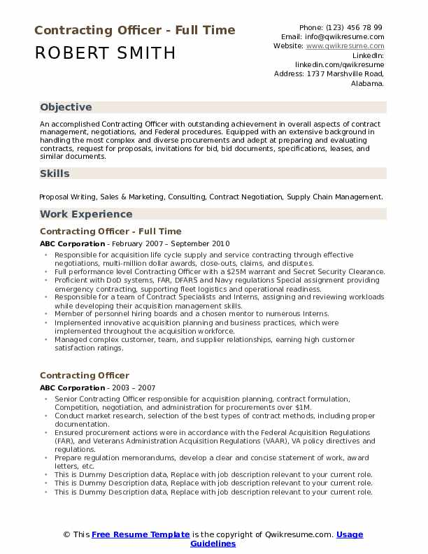 contracting officer resume samples qwikresume government pdf tips for writing great Resume Government Contracting Officer Resume