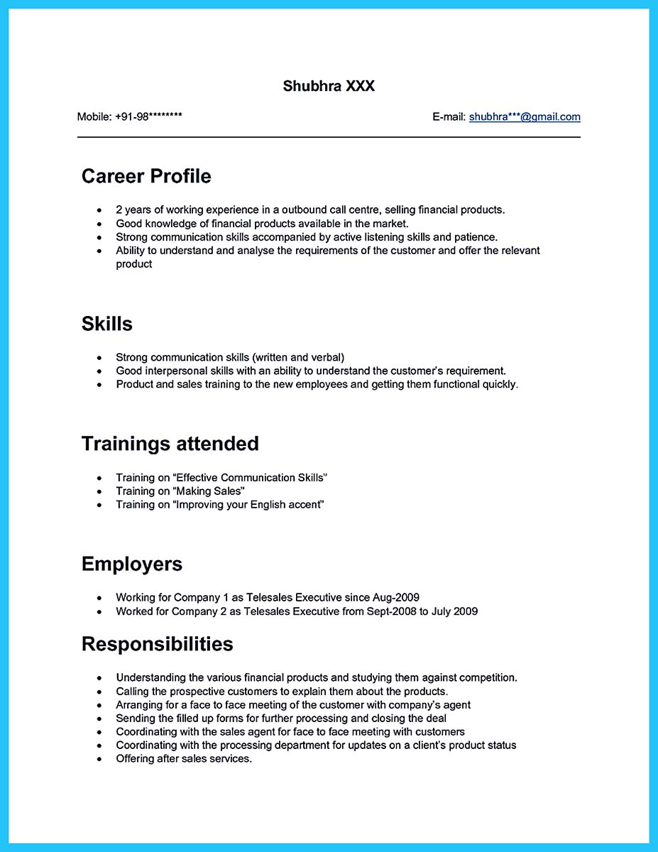 cool information and facts for your best call center resume sample popular template agent Resume Resume Template For Call Center Agent