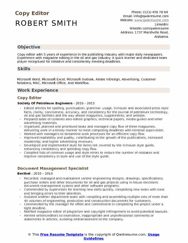 copy editor resume samples qwikresume free and paste pdf front of house staff laboratory Resume Free Resume Copy And Paste