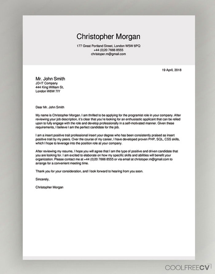 cover letter maker creator template samples to pdf create for your resume business Resume Create A Cover Letter For Your Resume Online
