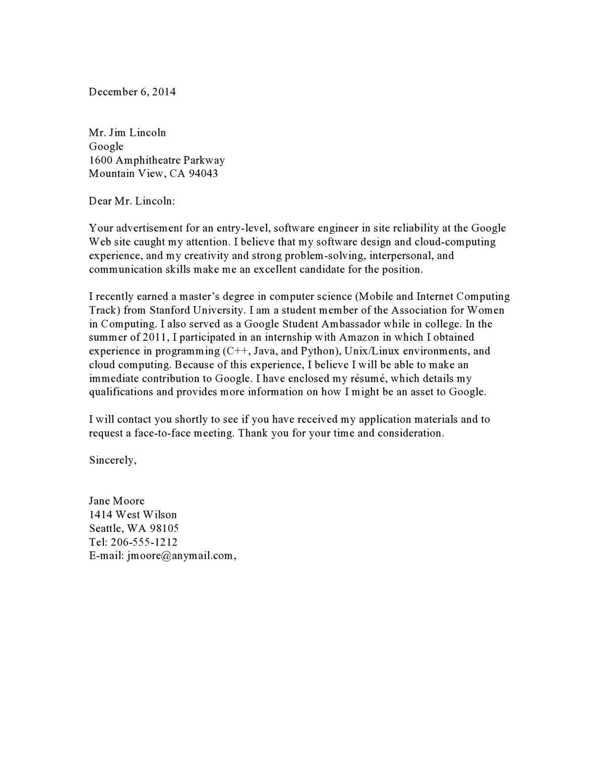 cover letter samples templates examples vault for resume with no experience cletreinter09 Resume Cover Letter For Resume With No Experience