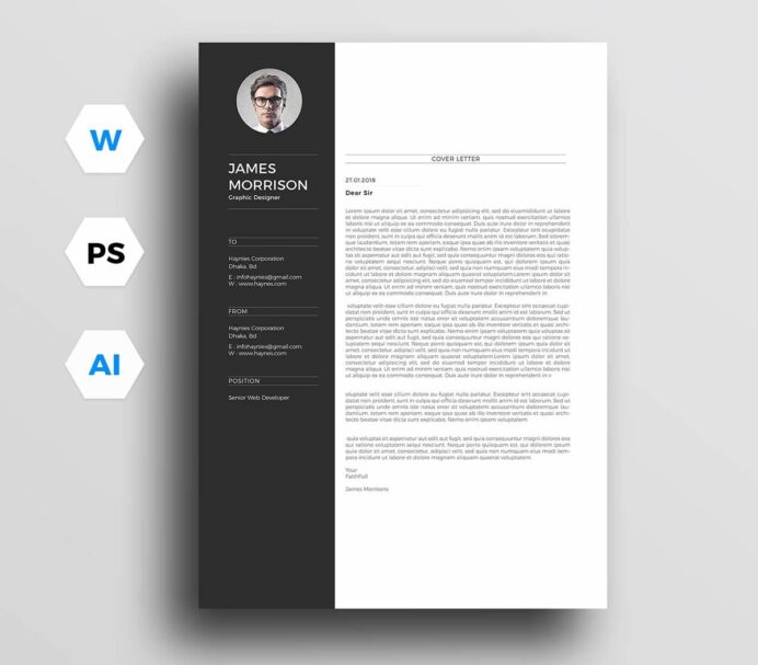 cover letter templates for microsoft word free printable letters resumes template general Resume Free Printable Cover Letters For Resumes