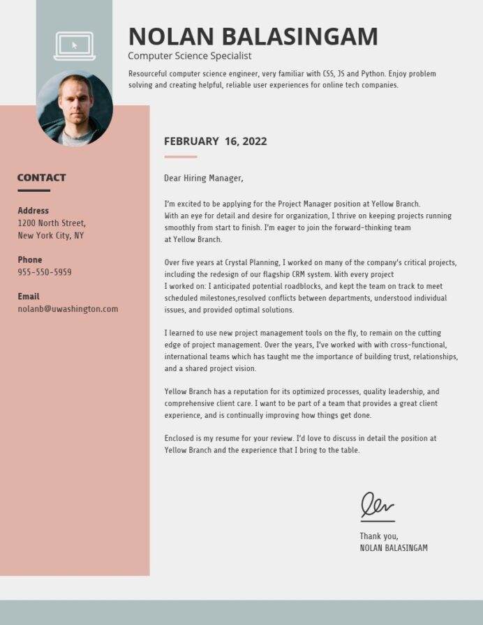creative cover letter templates to impress employers venngage make for resume free simple Resume Make A Cover Letter For Resume Online Free