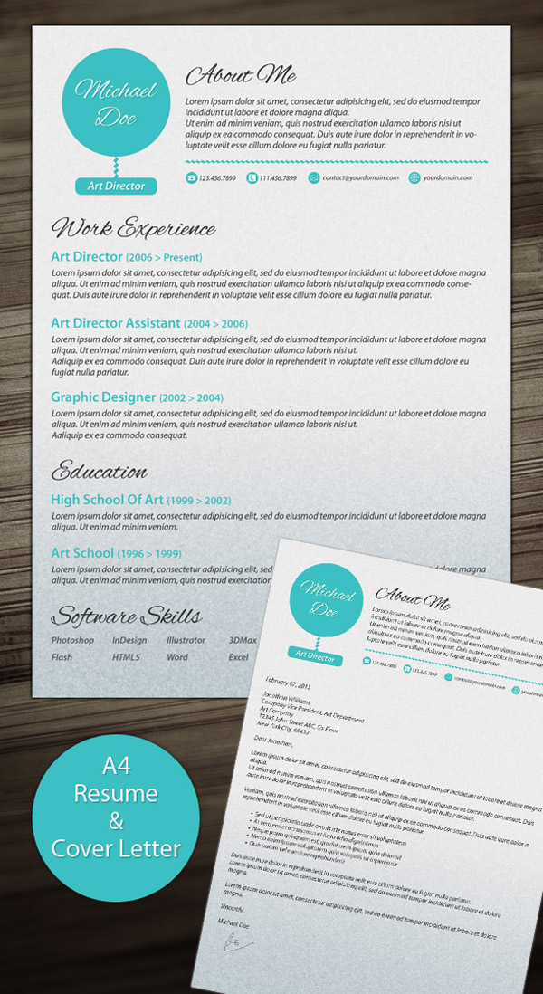 creative cv templates that make you stand out resume awesome and examples oncology nurse Resume Resume Templates That Stand Out