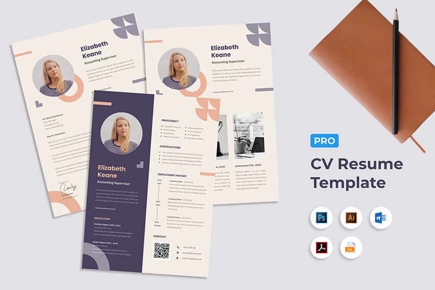 creative resume cv design tips for with interactive template graphic description office Resume Interactive Resume Template