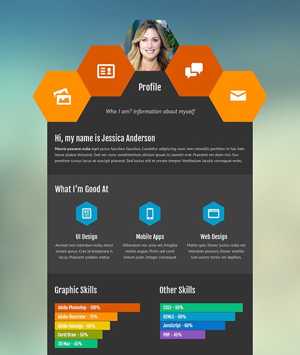 creative resume ideas to stand out in interactive template personal folio and website sap Resume Interactive Resume Template
