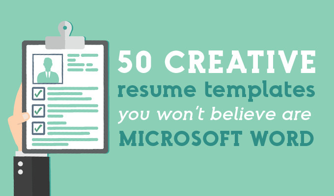 creative resume templates you won believe are microsoft word market blog best looking pic Resume Best Looking Resume Templates