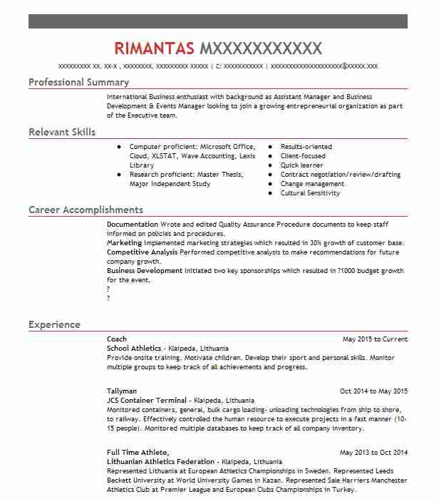 cricket coach resume example coaching solutions jobstown new player format excel vba Resume Cricket Player Resume Format